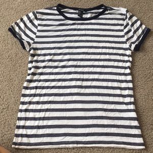 Striped forever 21 tee!